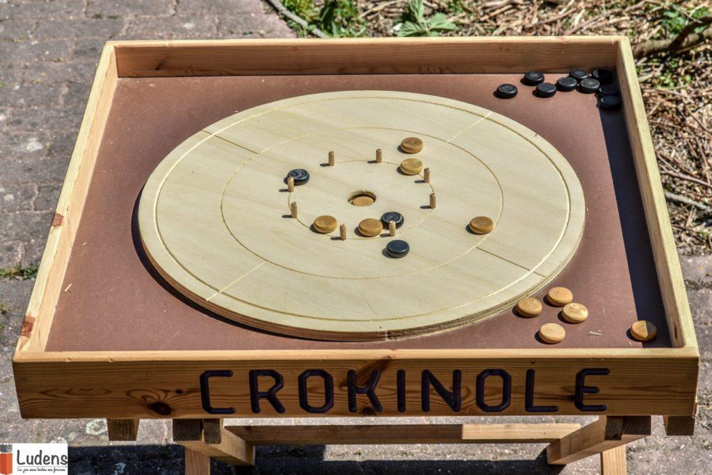 Crokinole adresse jeu traditionnel bois