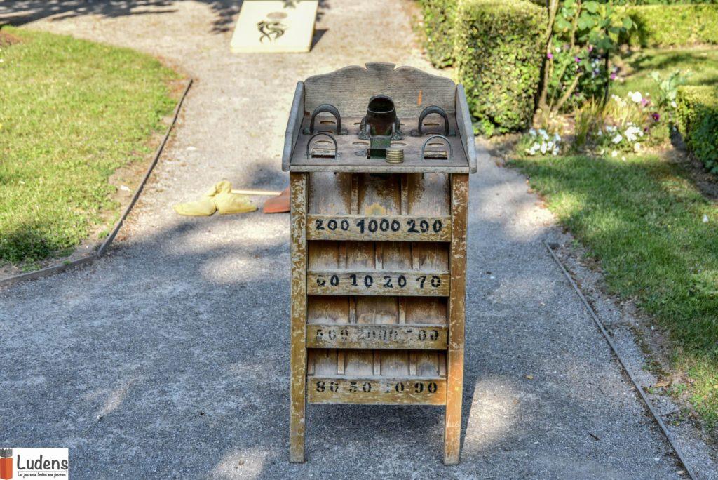 La Grenouille jeu traditionnel en bois de lancé