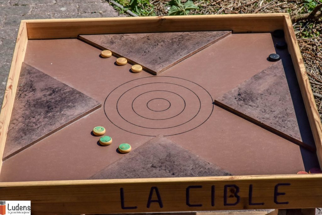 La-clible jeu en bois traditionnel