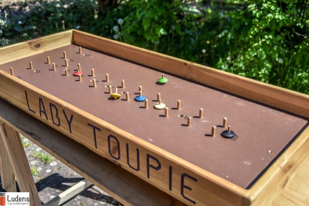 Laby-toupie adresse jeu traditionnel en bois