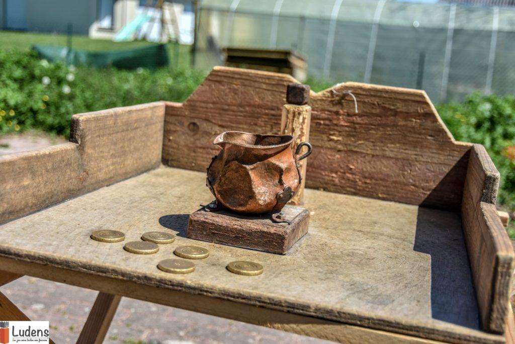 Le chaudron jeu en bois traditionnel adresse