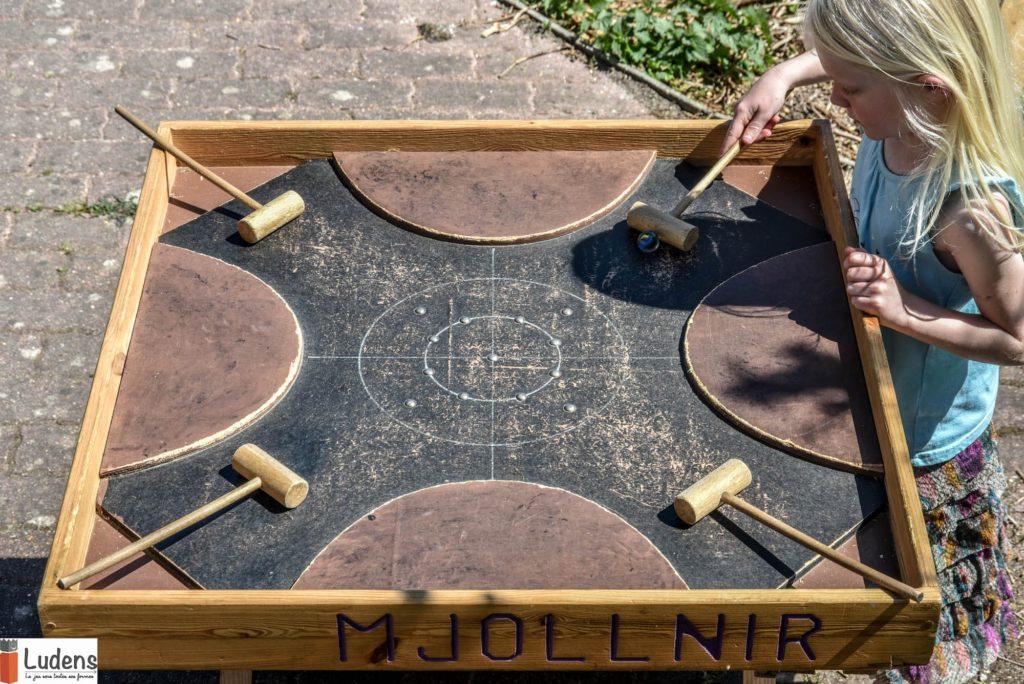 Mjollnir Le jeu de marteaux en bois traditionnel